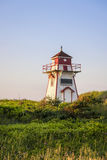 Phare de port de Covehead, PEI Photographie stock