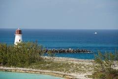 Phare de port de Nassau Image libre de droits