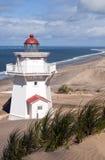 Phare de Pouto - Kaipara, les terres du nord, Nouvelle Zélande Photos stock