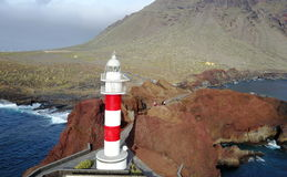 Phare de Punta Teno image libre de droits