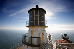 Phare de Reyes de point Images libres de droits