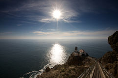 Phare de Reyes de point Photographie stock