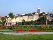 Phare de Sile, Istanbul - Turquie Images stock