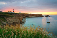 Phare de Souter, R-U Photographie stock