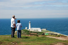 Phare de Southstack Image stock