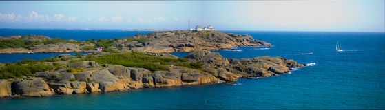 Phare de Stavern Photo stock