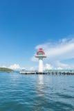 Phare de style chinois à l'île de Sichang Photo libre de droits