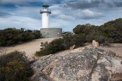 Phare de Tourville de cap, Tasmanie, Australie Image stock