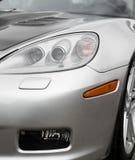 Phare de voiture de sport Photos libres de droits
