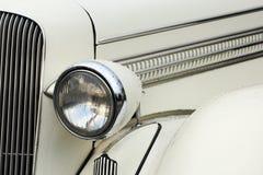Phare de voiture de vintage Images stock