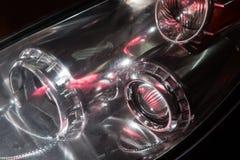 phare de voiture prestigieuse moderne Photos stock