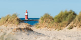 Phare de Warnemunde Photographie stock