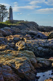 Phare du Connecticut Photos stock