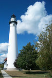 Phare du lac Michigan Photos libres de droits