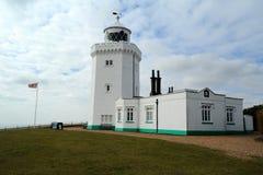 Phare du sud de cap de Douvres Image stock