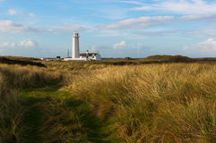Phare du sud de Walney Photos stock