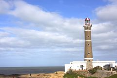 Phare en Jose Ignacio Photographie stock