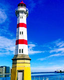 Phare en Mer du Nord Photos libres de droits