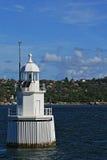 Phare en Sydney Harbor Australia Photos stock