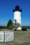 Phare est de côtelette sur le Martha's Vineyard Photo stock