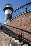 Phare et escalier de Southsea Photos stock
