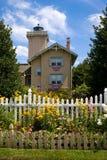 Phare et jardins Image libre de droits