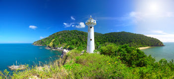 Phare et stationnement national de KOH Lanta, Krabi, Images stock