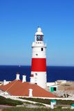 Phare, Gibraltar Photos stock