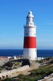 Phare, Gibraltar Photographie stock libre de droits