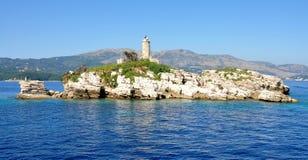 Phare, Grèce Image libre de droits