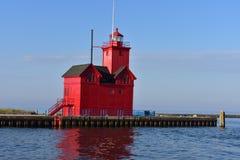 Phare Holland State Park images libres de droits