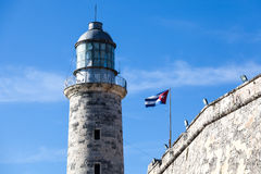 Phare, La Havane, Cuba image stock