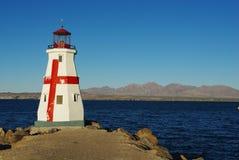 Phare, Lake Havasu, Arizona images libres de droits