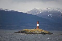 Phare Les Eclaireurs sur la Manche de briquet Images libres de droits