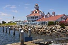 Phare Long Beach la Californie de Parkers Image stock