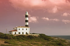 phare Majorque Image libre de droits