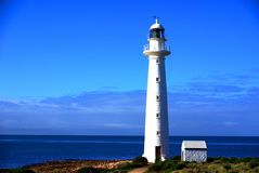 Phare modeste de point Photo stock