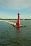 Phare, Muskegon, Michigan Photo libre de droits
