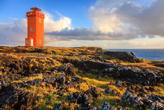 Phare orange Image stock