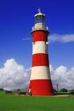 Phare, Plymouth, R-U images libres de droits