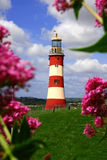 phare Plymouth R-U photo libre de droits