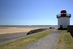 Phare, port Burry Photo stock