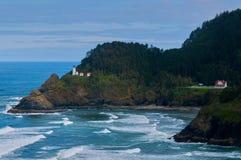 Phare près d'océan Images libres de droits