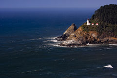 Phare principal de Heceta Images stock