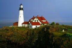 Phare principal de Portland Photos libres de droits