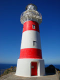 Phare rouge et blanc Photographie stock