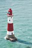Phare rouge et blanc Images stock