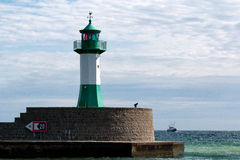 Phare Sassnitz/en Allemagne photos stock