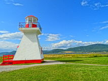 PHARE-Scheinwerfer-Carleton Gaspesie-tourisme stockfotografie