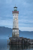 Phare sur le lac Bondesee Photos libres de droits